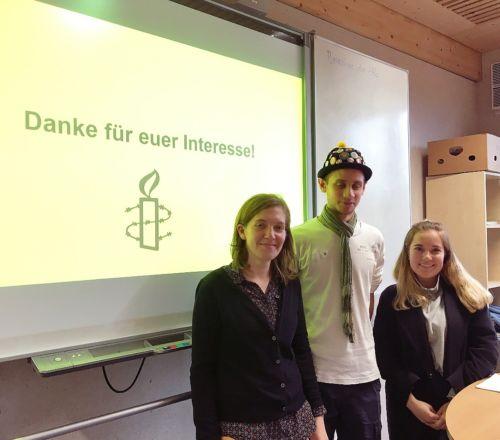 Schulbesuch an der Integrierten Gesamtschule Trier